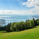 Bodensee: Blick vom Pfänder