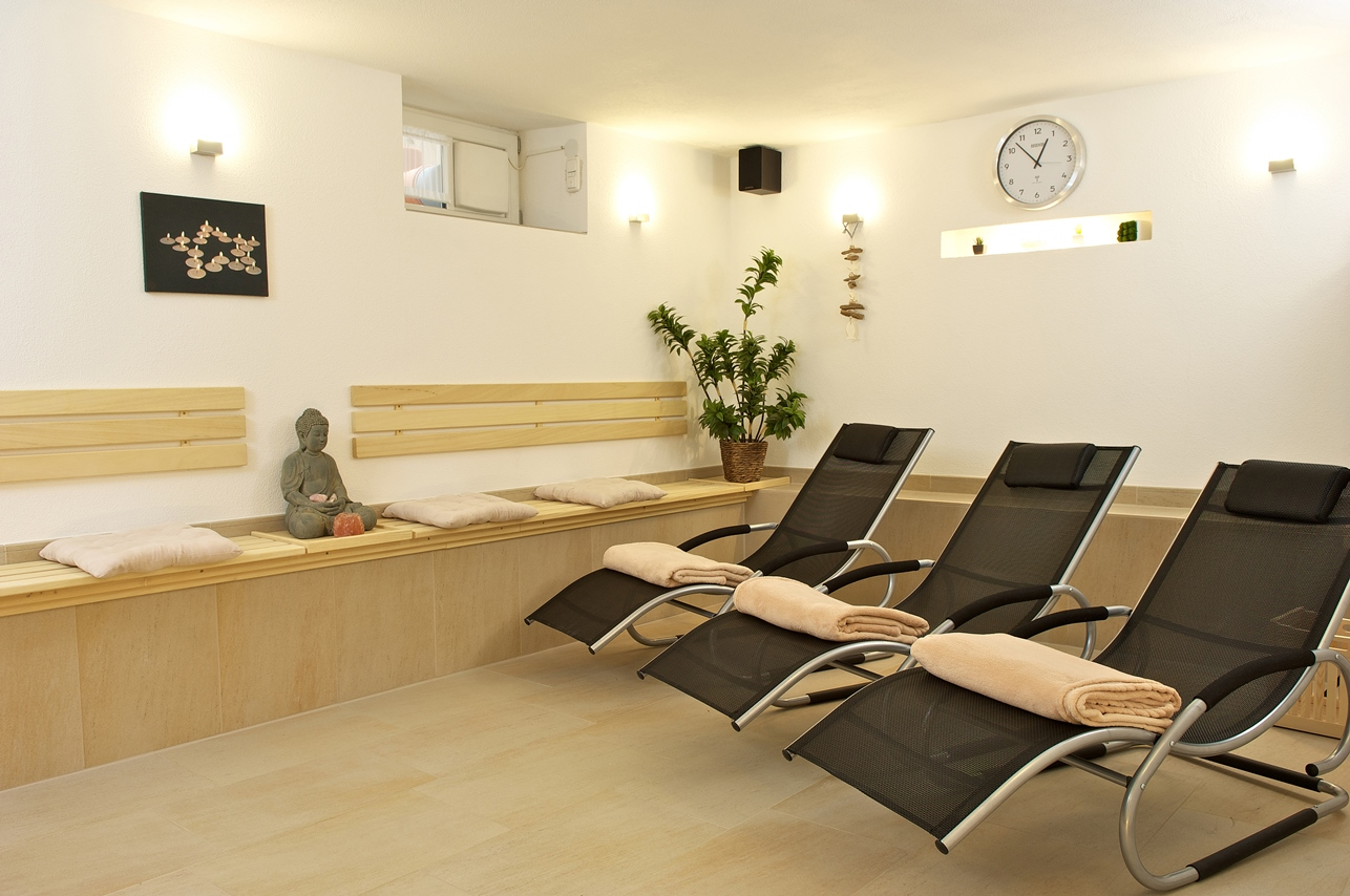 Sauna im Hotel Ziegler